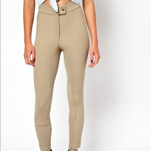 American Apparel Natural / Taupe Riding Pants M